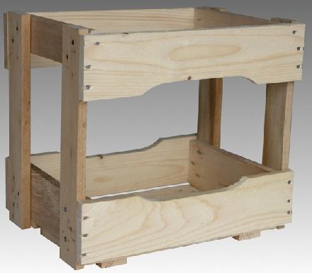 holzkisten holzkiste f r 12 maurerflaschen. Black Bedroom Furniture Sets. Home Design Ideas